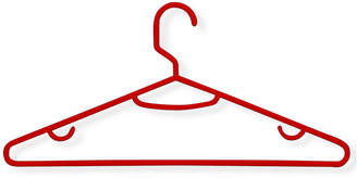 Honey-Can-Do 60-Pack Red Recycled Plastic Hangers