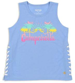 Butter Shoes Girls' Campchella Tank - Big Kid