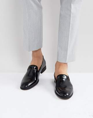 Zign Shoes Leather Hi-Shine Loafers