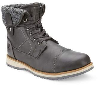 Reserved Footwear Faux Fur Lined Mid Boot
