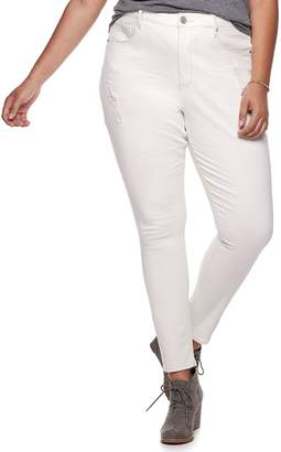 d68b9c6cea Mudd Juniors  Plus Size High-Waisted Jeggings