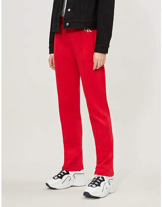 Calvin Klein Monogram cotton-blend jogging bottoms