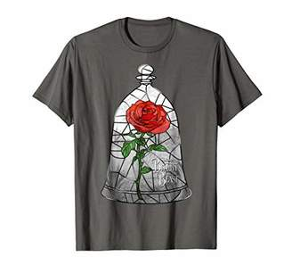 Disney Beauty & The Beast Inner Stained Glass Graphic T-S