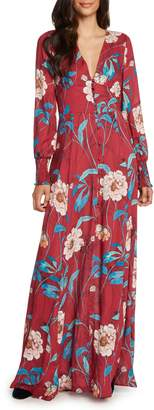 Willow & Clay Print Maxi Dress