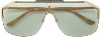 Gucci aviator framed sunglasses
