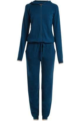 PEPPER & MAYNE Hooded cashmere jumpsuit