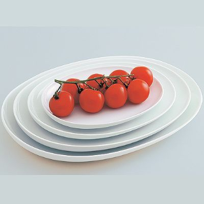 Five Senses Oval Platter Small - W