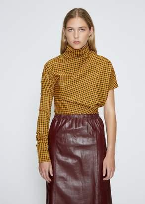 Calvin Klein Asymmetric Check Top