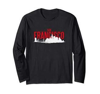 San Francisco Hometown T-Shirt Native American Skyline