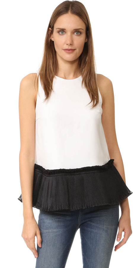 Opening Ceremony Opening Ceremony Ruffle Tank