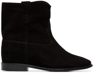 Isabel Marant Crisi flat ankle boots