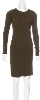 Alice + Olivia Long Sleeve Knee-Length Dress