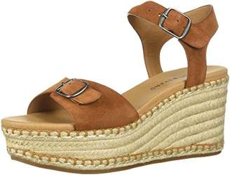 Lucky Brand Women's NAVEAH3 Espadrille Wedge Sandal