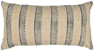"""Rizzy Home 14"""" x 26"""" Striped Poly Filled Pillow"""