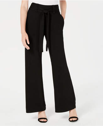 XOXO Juniors' Self-Tie Wide-Leg Pants