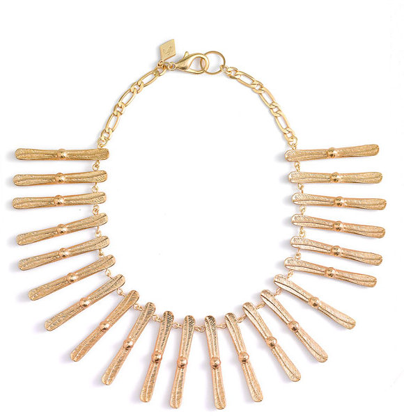 Sequin 'Cleopatra' Fringe Collar Necklace