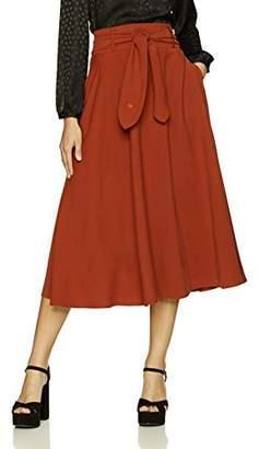 Mulberry Dear Drew by Drew Barrymore Women's Street Tie Front Skirt