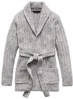 Banana Republic JAPAN ONLINE EXCLUSIVE Shawl-Collar Cardigan Sweater