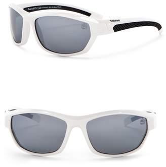 Timberland Wrap 62mm Polarized Sunglasses