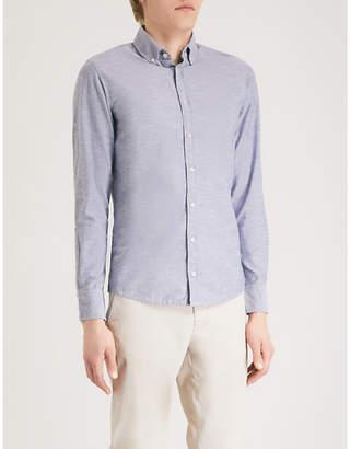 BOSS ORANGE slim-fit cotton shirt