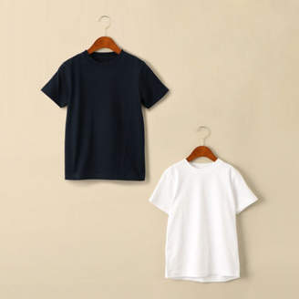United Arrows Green Label Relaxing (ユナイテッド アローズ グリーン レーベル リラクシング) - green label relaxing 【ジュニア】〔別注〕Hanes(ヘインズ)BEEFY 2P Tシャツ