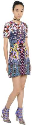 Mary Katrantzou Floral Printed Silk Crepe Dress