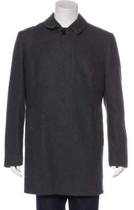 Burberry Wool Overcoat