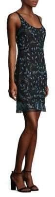 Aidan Mattox Embellished Sleeveless Sheath Dress