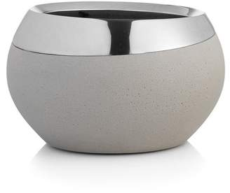 Nambe Grey/Silver Forte Small Bowl