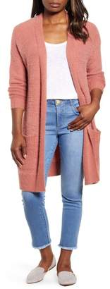 Caslon Fluffy Cardigan (Regular & Petite)