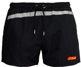 Heron Preston Logo Swim Shorts - Mens - Black