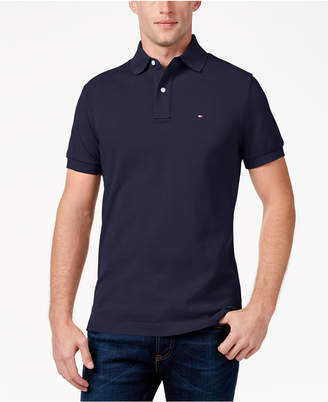 Tommy Hilfiger Men's Custom Fit Ivy Polo