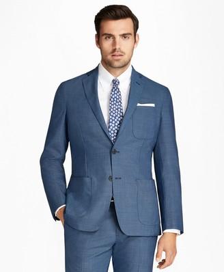 Brooks Brothers Regent Fit BrooksCloud Tic 1818 Suit