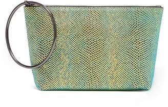 Thacker New York - Large Ring Pouch In Neon Iridescent