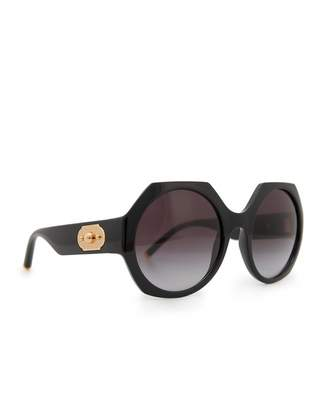 fb96d4f7dd8c Dolce & Gabbana Sunglasses Sunglasses Hexagon Turn Lock Logo Sunglasses  Colou