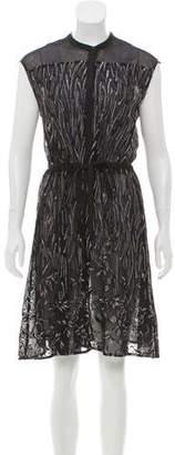 AllSaints Sleeveless Button-Up Dress