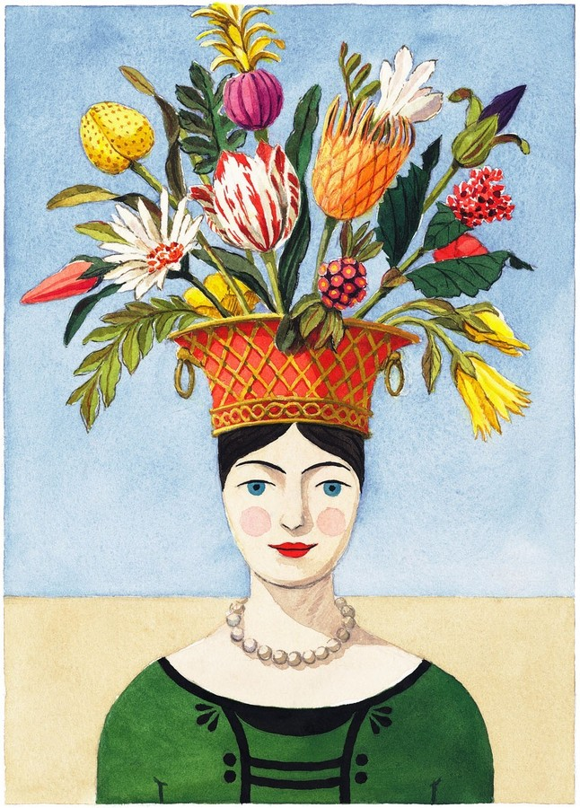 The Flower Lady Limited Edition Print - Wall Art