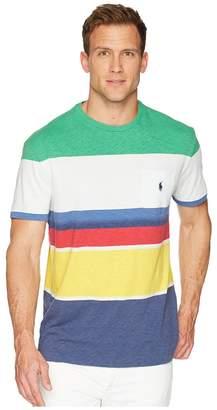 Polo Ralph Lauren CP-93 Yarn-Dye Slub Jersey Short Sleeve T-Shirt Men's T Shirt
