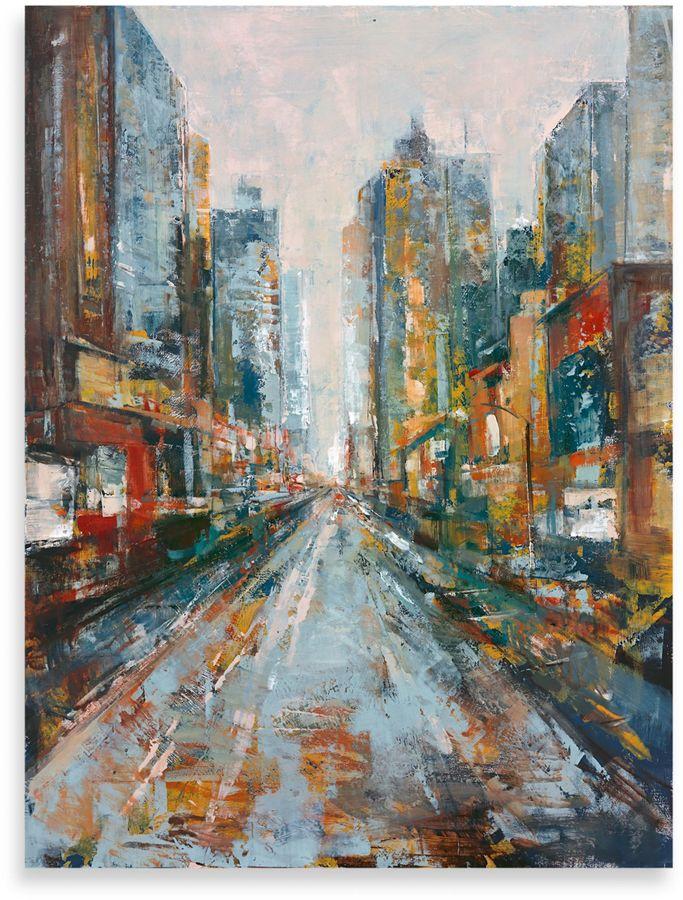 "Bed Bath & Beyond""City View"" Canvas Art"