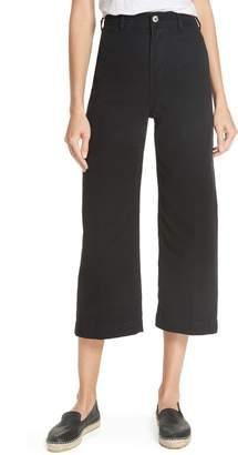 Free People Patti Crop Cotton Pants
