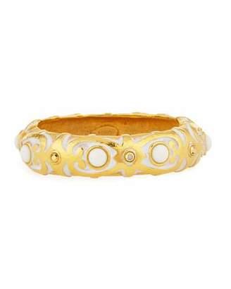 Jose & Maria Barrera White Wash-Finish Cuff Bracelet