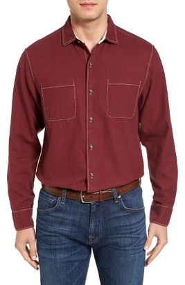 Men's Big & Tall Tommy Bahama Sea Glass Original Fit Flannel Shirt $148 thestylecure.com