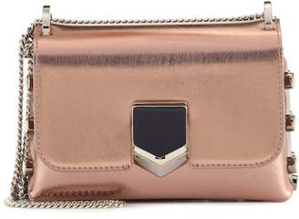 Jimmy Choo Lockett Mini leather shoulder bag
