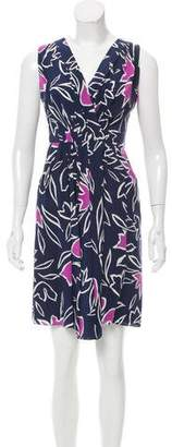 Nina Ricci Printed Silk Dress
