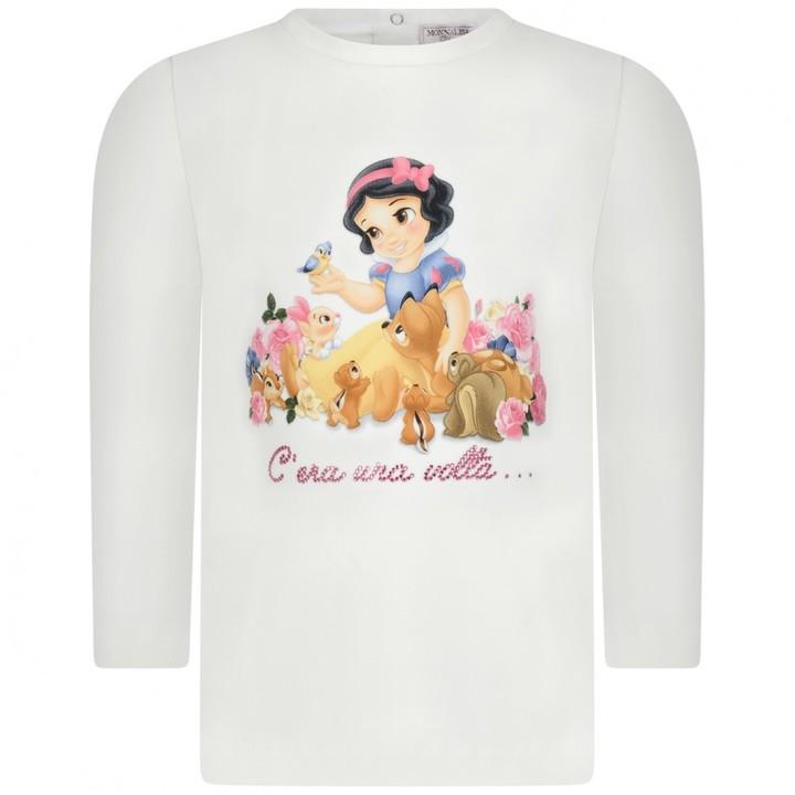 MonnaLisa MonnalisaBaby Girls Ivory Snow White Top