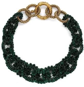Rosantica BY MICHELA PANERO Carramato short beaded necklace