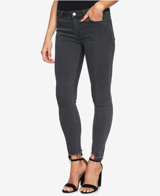 1 STATE 1.STATE Step-Hem Frayed Skinny Jeans