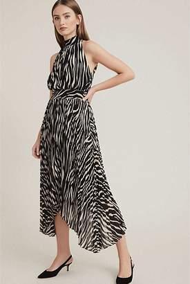 Witchery Print Pleat Dress