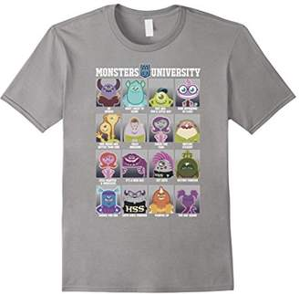 Disney Pixar Monsters University Class Photos T-Shirt