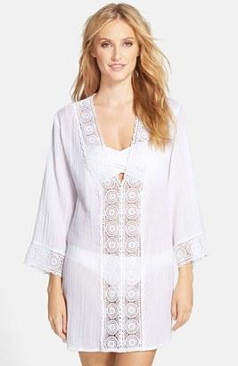 Women's La Blanca 'Island Fare' V-Neck Cover-Up Tunic $99 thestylecure.com